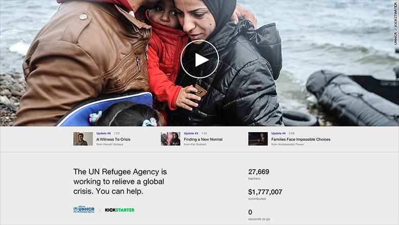 refugees kickstarter