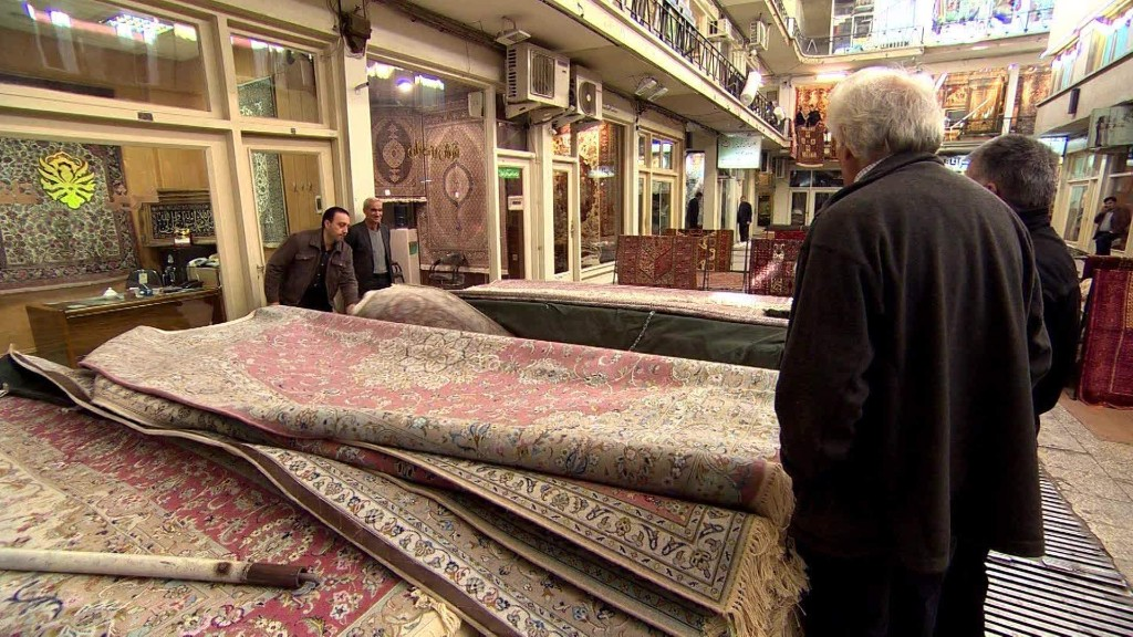 Iranians prepare for sanctions to end