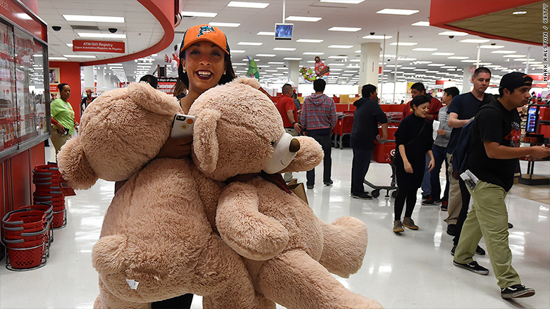 Target Los Angeles Black Friday 2015 In Pictures Cnnmoney