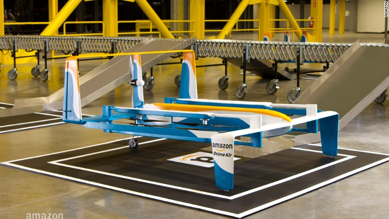 amazon air drone ground