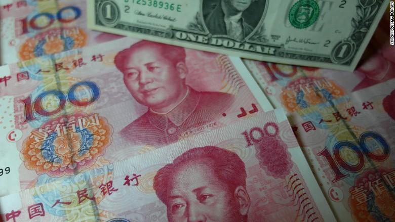 china yuan usd