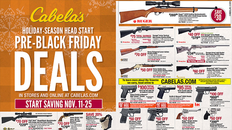 cabela black friday