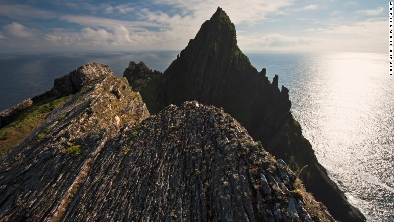 Star Wars Skellig Michael Ireland