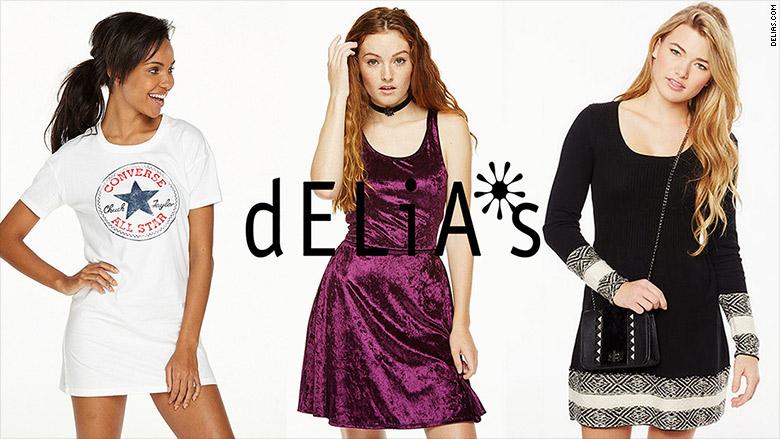 Delia's - Dead brands from the 90s make a comeback