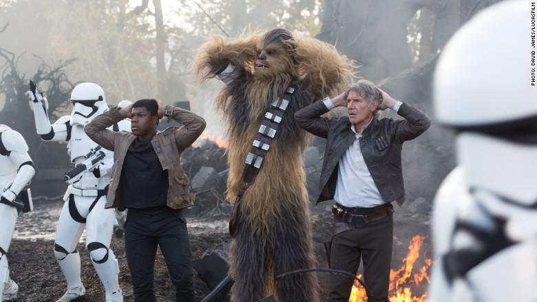 star wars han chewbacca stormtroopers