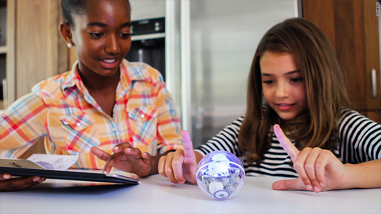 sphero sprk kids playing