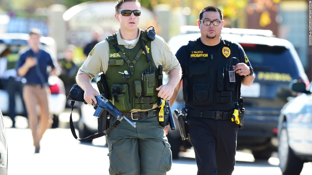 Timeline for San Bernardino mass shooting