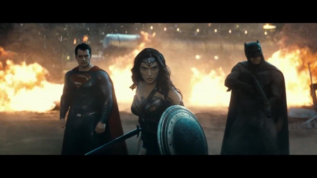 Watch the trailer for 'Batman v Superman'
