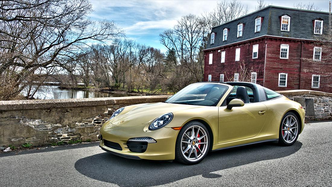 Porsche 911 Targa Our Favorite Sports Cars Of 2015 Cnnmoney