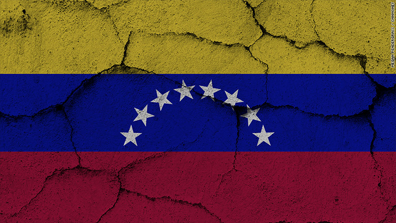 venezuela economy flag