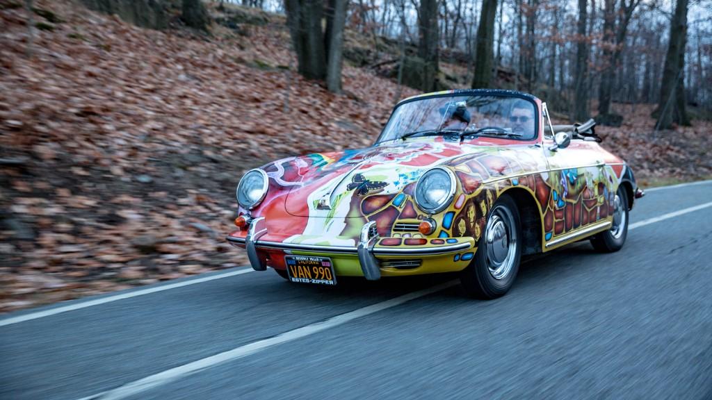 Driving Janis Joplin's psychedelic Porsche