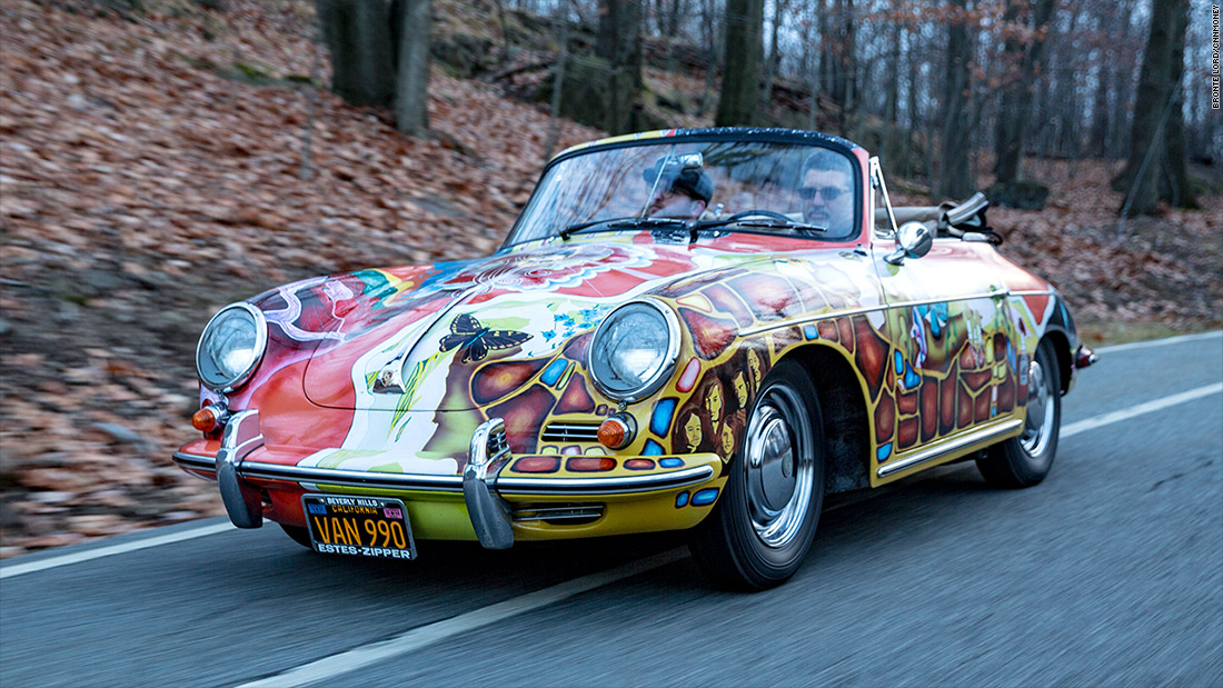 Janis Joplin\'s Porsche - Most amazing cars I drove in 2015 - CNNMoney