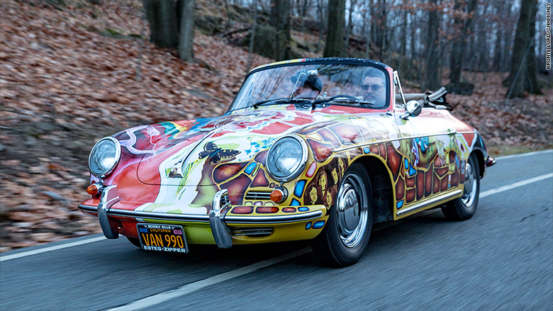 Fear Of Driving >> Janis Joplin's Porsche sells for $1.76 million