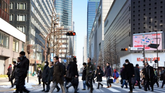 Bank of Japan cuts key interest rate into negative territory