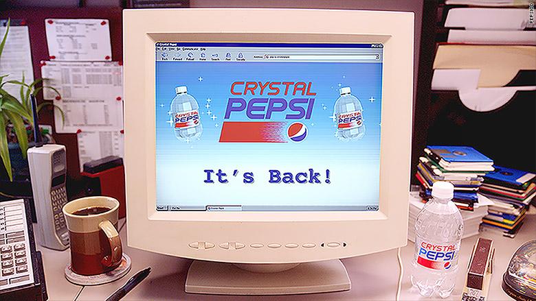 crystal pepsi computer
