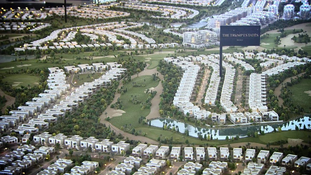 Dubai developer sticks with Trump