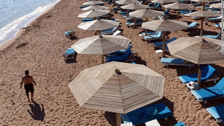 Sharm El-Sheikh empty
