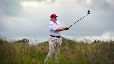 Is President Trump good for the golf industry?