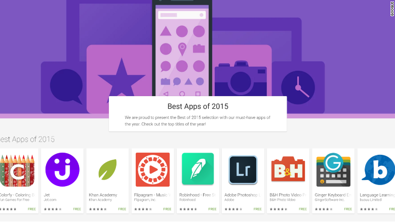 best apps of 2015