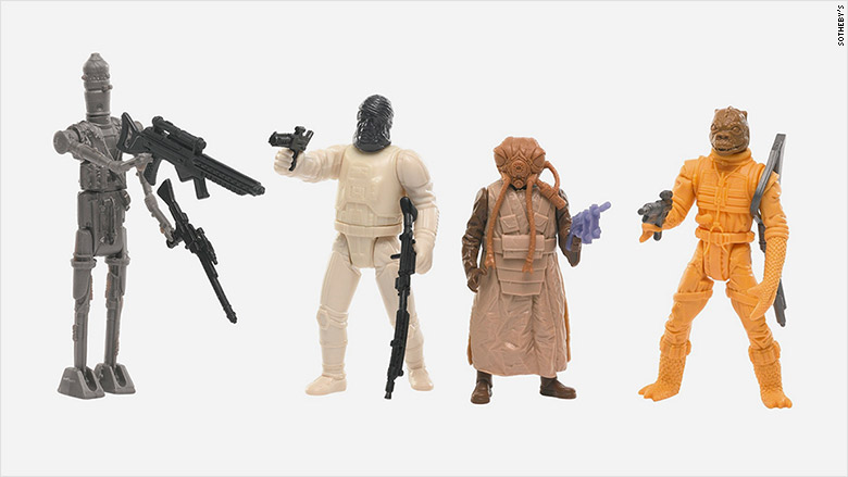 star wars auction action figure prototypes