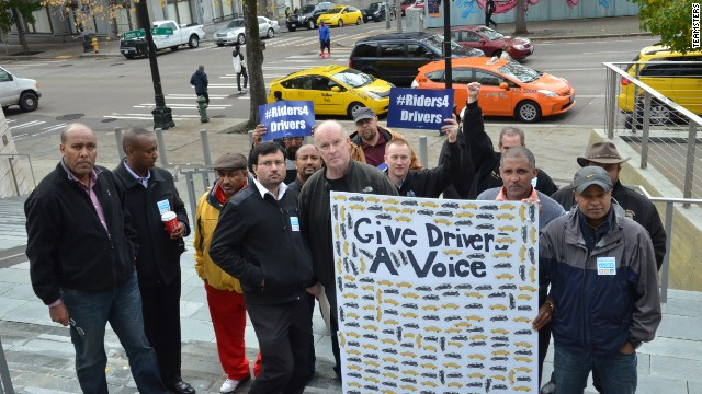 Seattle vote lets Uber and other taxi drivers unionize
