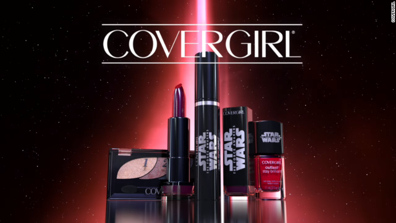 star wars ad covergirl