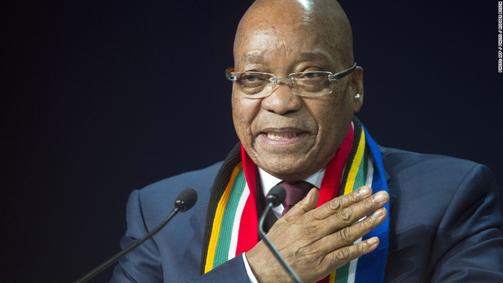 Zuma's dramatic government reshuffle