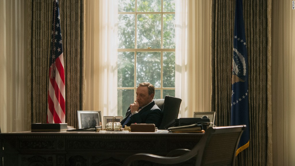 President Underwood appears during GOP debate