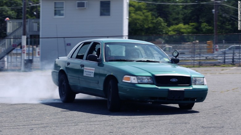 stunt driving skid
