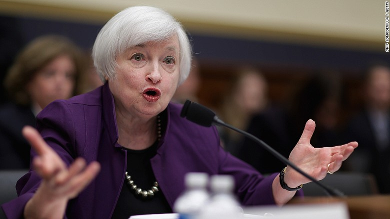 Janet Yellen Financial Services Committee