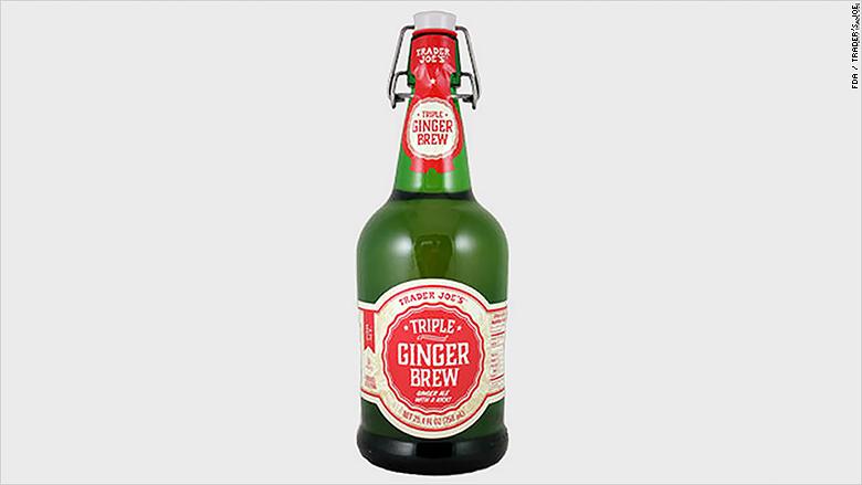 trader joes ginger brew