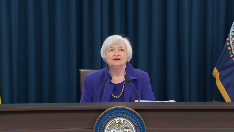 Janet Yellen says rate hike 'appropriate' soon