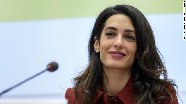Amal Clooney endows scholarship for Lebanese girls