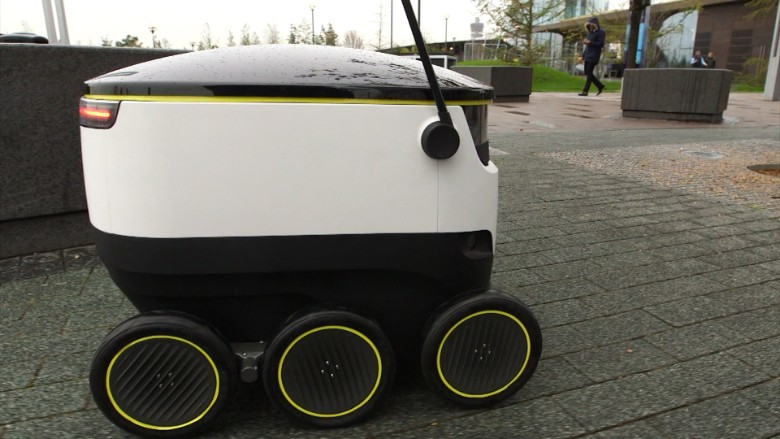 Care One Credit Card >> This robot will deliver your groceries - Video - Technology