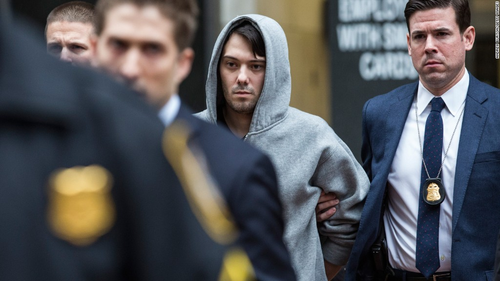 Martin Shkreli steps down as Turing CEO