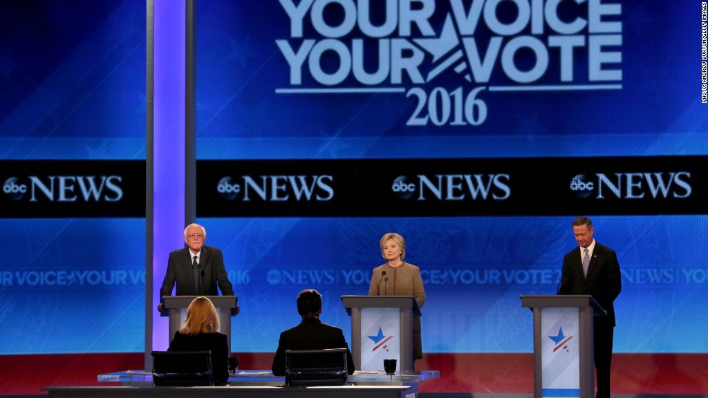 ABC's Democratic debate in two minutes