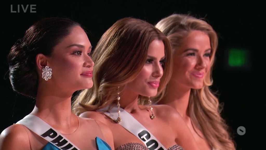 Donald Trump talks Miss Universe flub