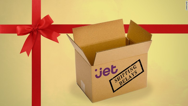amazon competitor jet may not deliver in time for christmas - Amazon Christmas Delivery