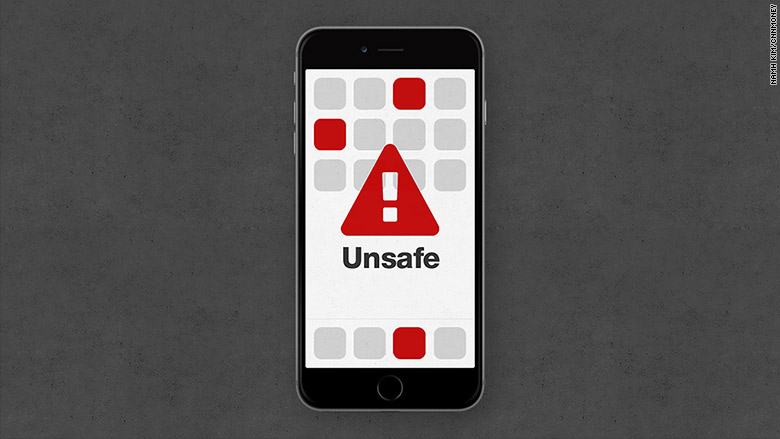 unsafe iphone apps