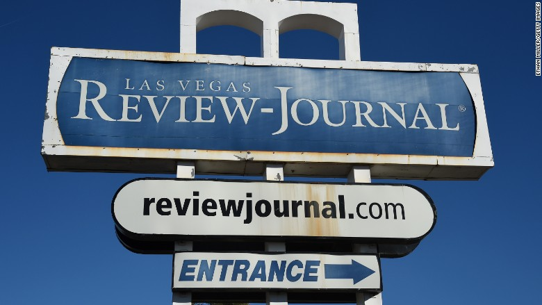 las vegas review journal sign