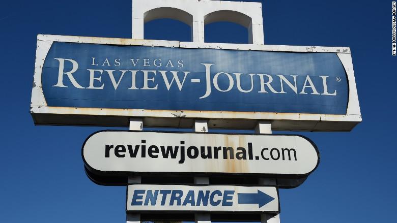 las vegas review journal sign