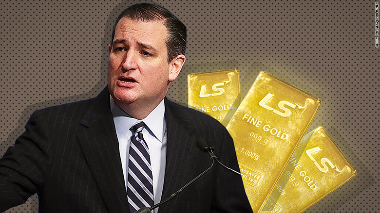 ted cruz gold bars