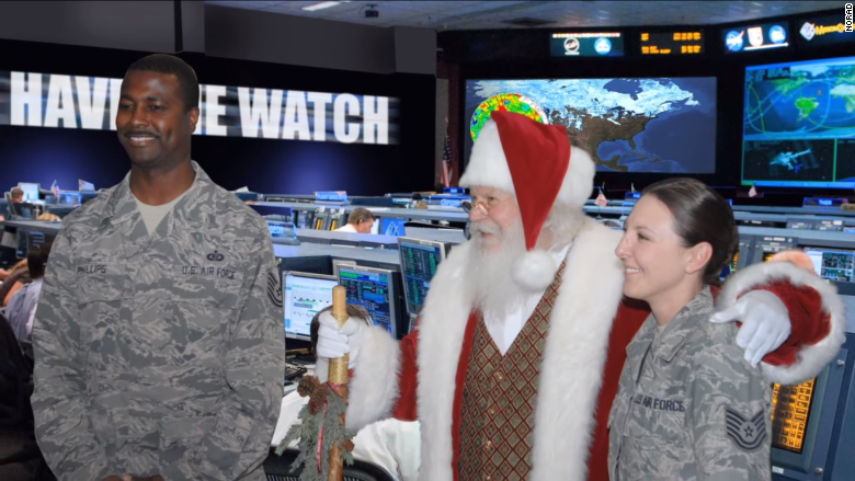 norad now also operates a website and social media feeds where kids can track santa it partnered this year with microsoft to develop a special christmas
