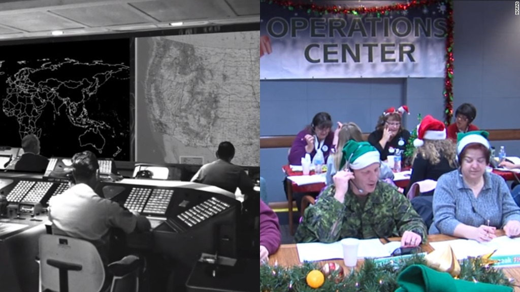 NORAD tracks Santa's movements live on CNN