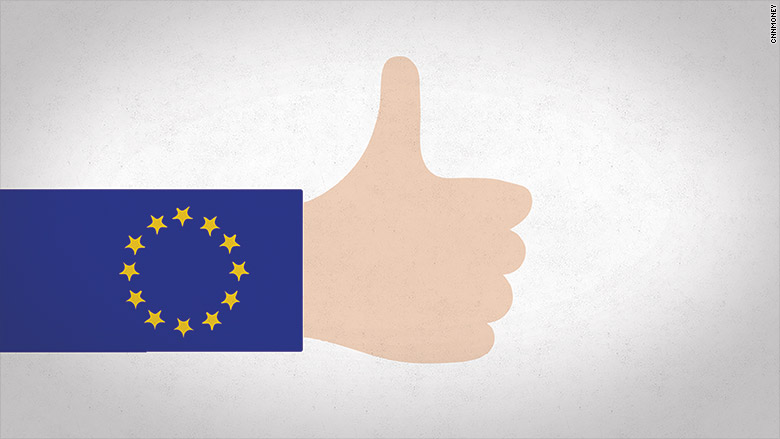 european union thumbs up