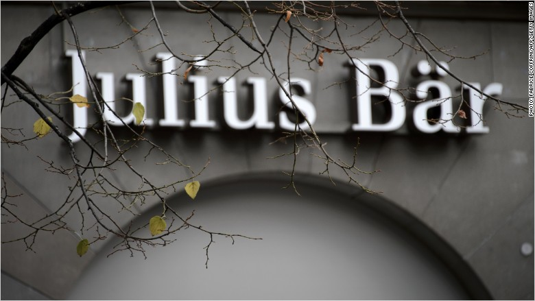 Julius Baer sign