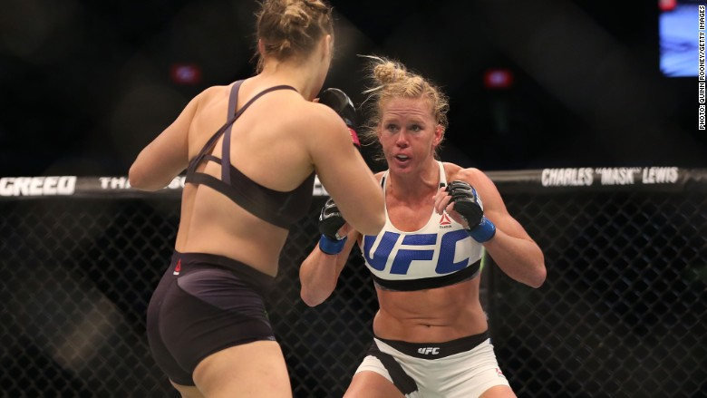 ufc holly holm women in sports
