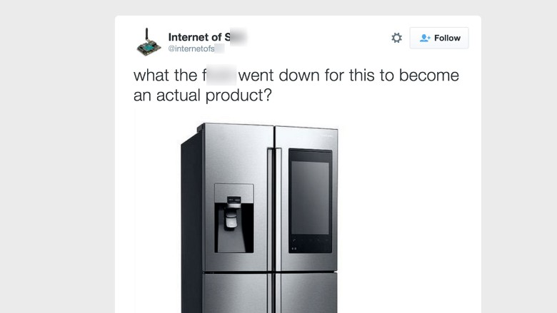 IoT parody account