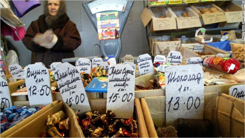 Ukraine Russia food sanctions