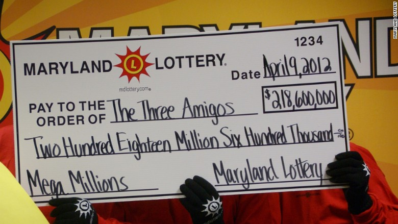 maryland lottery winners three amigos $656 mega millions